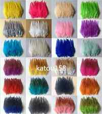 Beautiful 50pcs/100pcs rooster tail feathers 10-15cm / 4-6inch 29 Colors