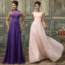 CHEAP Sexy Long Maxi Evening Dresses GRAD Formal Party Ball Gown Prom Bridesmaid