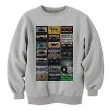 Old Skool Run Dmc Biggie Smalls Beastie Boys Hip Hop Music Tapes Mens Sweatshirt