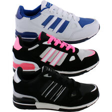 Ladies Trainers Lace Up Womens Running Trainers Casual Sports Shoes