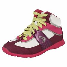 Girls Cica by Clarks High Top Trainers Prance High