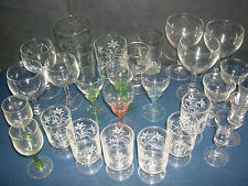 GLASSES   WINE, SHERRY ( sets & spares ) -- click on the site to chose and order