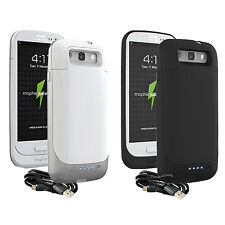 Brand NEW Mophie Juice Pack Battery Case for Samsung Galaxy S3 - Black or White