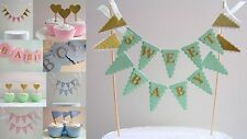 Baby Shower Party Decorations - New Baby, Christening - Mint, Pink, Blue