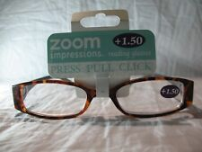 Zoom Impressions Marble Swirl Gray or Blue Reading Glasses +1.25 1.50 2.00 2.50