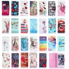 Cute Pattern Stand Flip Wallet PU Leather Case Cover For Apple iPhone 6 Plus / 6