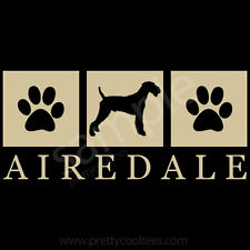 Airedale Terrier Silhouette T-Shirt - Men Women Youth Tank, Short, Long Sleeve