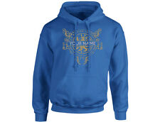 A British Legend Surname 'Your Text' Personalised Unisex Hoodie (8 Colours)