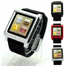 Multi-Touch Watch Band Kit Wrist Strap Bracelet For iPod Nano 6 6G Gen