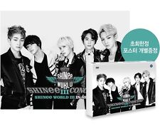 SHINEE 3rd Concert WORLD III IN SEOUL :2 DVD +PhotoBook +Poster+GiftPhoto shinee