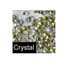 glass point back crystal color rhinestones for DIY accesssories Chatons Strass
