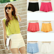 Fashion Women Girls Casual Short High Waist Short Casual Shorts Short Pants S-XL