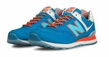 Mens New Balance 574 Classic Running Sneakers New, Blue Island Pack ML574IBL