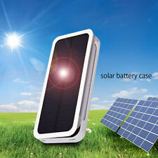 Solar Power Backup External Battery Charger Case for iPhone 5/5S 6 / 6 Plus