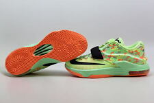 "Nike KD VII 7 Lime/Black-Green-Sunset Glow ""Easter"" 653996-304 Men's ALL SIZES"