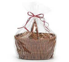 "*YOU CHOOSE QTY!* 20""x25"" Crystal Clear GIFT BASKET BAGS Cello Drop-In"