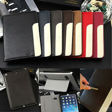 Luxury Leather Ultra Thin Smart Stand Case Cover for Apple ipad 2 3 4 5 Air/mini