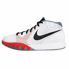 Nike Kyrie 1 GS Kyrie Irving White Grey Black Boys Kids Youth Basketball Shoes