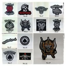 Motorhead Sew On Patch Iron Embroidered Rock Band Heavy Metal Music Badge Appliq