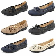Ladies Womens Slip On Loafer Shoes Casual Flat Summer Office Work Ballet Pumps