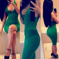 New Sexy Women Bandage Sleeveless Slim Fit Cocktail Party Clubwear Dress Elegant