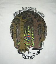 Grateful Dead Shirt ..What do you do ... Bear in the Woods? PLAY DEAD