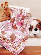 """""""Cuddly Critters"""" & """"Bouncing Baby Blocks"""" ~ 2 quilt patterns~Easter,Baby,Spring"""