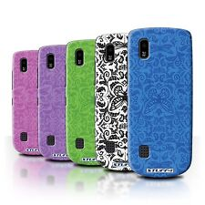STUFF4 Back Case/Cover/Skin for Nokia Asha 300/Insect Pattern