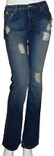 'Blue Cult'- New Ladies #121 Kate  Distressed Denim Jeans- Mid Rise Flare Bottom