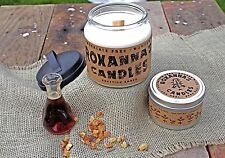 Egyptian Amber Wooden Wick Soy Wax Candle *All-Natural* No Dyes Phthalate-Free