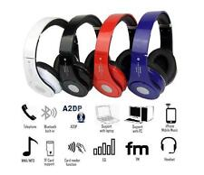 Bluetooth Stereo Wireless Headphones  Foldable FM Cordless Headset with MIC New