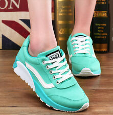 Hot Spring Womens Lace Up Faux Suede Air Max Athletic Sport Sneaker Fashion Shoe