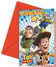Toy Story Star Power | Woody Party Invites | Invitations with Envelopes 1-48pk