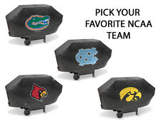 NCAA Teams - Deluxe Heavy Duty Barbeque BBQ Grill Cover