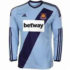 Adidas Men's West Ham United 2014-15 Away L/S Shirt with Betway Logo, Size: XL