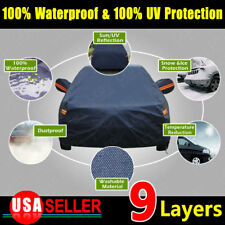 9 Layers PEVA Cotton Lining Seamless SUV Temperature Dust Waterproof Car Cover