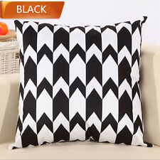 """Serrated 18""""  Home Decorative Cushion Cover Throw Pillow Case"""