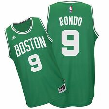2014-15 Rajon Rondo ADIDAS BOSTON Celtics CLIMALITE Road Swingman Jersey Men's