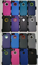 New Defender Series Case & Belt Clip Holster for Apple iPhone 5 5S 5C