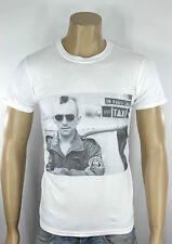 Taxi Driver T-Shirt White De Niro Classic Old School Movie Martin Scorsese retro
