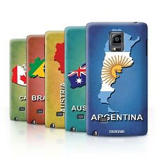 STUFF4 Back Case/Cover/Skin for Samsung Galaxy Note Edge/N915/Flag Nations