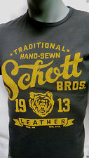Schott nyc T- SHIRT SS  Made in USA  NEW ASK FOR SIZES at usaleatherco.com