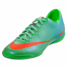 NIKE MERCURIAL VICTORY IV IC INDOOR SOCCER FUTSAL CR7 SHOES Neo Lime/Metallic Si