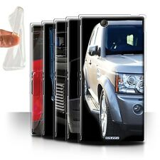 STUFF4 Gel/TPU Case/Cover for Sony Xperia Z Ultra/4x4 Land Rover