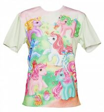Official EXCLUSIVE Unisex My Little Pony Vintage Scene T-Shirt from Mr Gugu & Mi