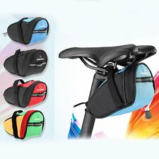 Waterproof Bicycle Seat Bag Bike Rear Saddle Outdoor Cycling Pouch Tail Pannier