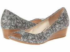 Cole Haan Womens Air Tali Open-Toe Wedge 40 Slip-On Peep-Toe Pumps Heels Shoes
