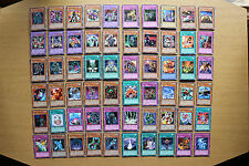 DR1 & DR2 Rares (Silver Title Rares) Yugioh Cards (60 Different Cards)