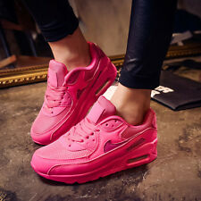 Hot Trendy Womens Air Max Lace Up Running Lace up Sport Sneakers Trainer Shoes