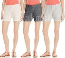 NEW! Womens Calvin Klein Linen Blend Classic Shorts! Casual Shorts! VARIETY!